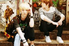 Key and Onew - SHINee <3