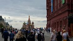Moscow, Red square, St. Basil's cathedral
