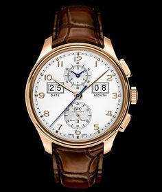"""IWC Portugeiser perpetual Calendar Digital Date-Month edition """"75th Anniversary"""" 18K Rose Gold Automatic"""