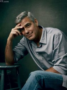 George Clooney, especially in my all time favorite movie, O Brother Where Art Thou?