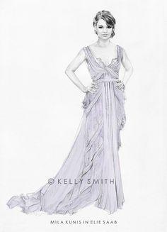 mila oscar dress. by the talented kelly smith