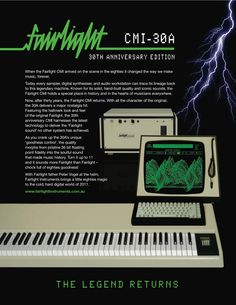 fairlight synth - Google Search