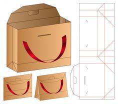 Afbeeldingen, stockfoto's en vectoren van Box Template Food Box Packaging, Bag Packaging, Packaging Design, 3d Templates, Paper Bag Design, Paper Box Template, Restaurant Flyer, Vintage Logo Design, Sale Banner