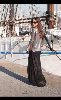 Moda en la calle en Barcelona