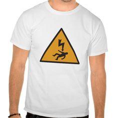 Shock Hazard T Shirt, Hoodie Sweatshirt