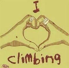 I <3 climbing