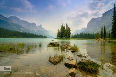 Spirit Island Jasper National Park by KishoreMathraniPhotography - Pinned by Mak Khalaf
