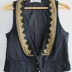 Studded vest!