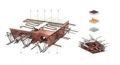 """Holedeck Waffle Slab Construction System Saves 20"""" Per Floor : TreeHugger"""