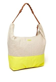 Color block is so popular - and the color is perfect for spring! Roxy Meadow Color Block Bag from Glik's in Hannibal, Mo.