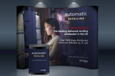 Fusion Signage & Displays - Our Work - Bannerstand System - Automatic Retailing