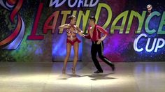 Javier & Katya, Mexico & Rusia, Semi final, Salsa on 1 couple pro, WLDC ...