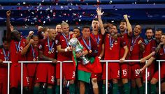 Portugal wins the Euro Cup 2016 Portugal Team, Cr7 Wallpapers, And So The Adventure Begins, Christian Women, Cristiano Ronaldo, Victorious, Instagram Posts, Portuguese, 1