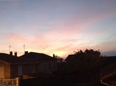 Le ciel en fin de saison d'automne 2k15