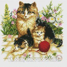 Gallery.ru / Фото #96 - 337-45 - markisa81 Cat Cross Stitches, Counted Cross Stitch Patterns, Cross Stitch Designs, Cross Stitching, Cross Stitch Embroidery, Cross Stitch Cards, Cross Stitch Animals, Horse Pattern, Needlepoint