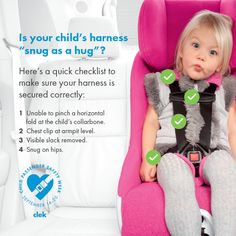 5 Point Harness Straps How To Check For A Secure And Correct Fit Booster Car SeatSafety