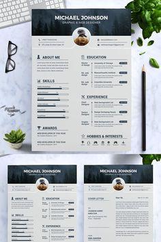 Graphic Designer Resume Template, Graphic Resume, Graphic Design Resume, Modern Resume Template, Resume Design Template, Creative Resume Templates, Resume Cv, Creative Resume Design, Resume Writing