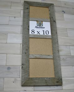 Barn Wood 4 pane Picture Frame [style: Thin x Barn Wood Picture Frames, 8x10 Picture Frames, Picture On Wood, Toy Rooms, Gallery, Crafts, Style, Photo On Wood, Swag