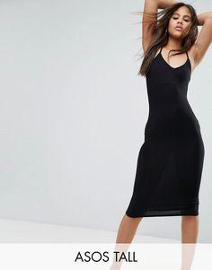 ¡Consigue este tipo de vestido informal de Asos Tall ahora! Haz clic para ver los detalles. Envíos gratis a toda España. Vestido camisola ajustado con diseño a media pierna de ASOS TALL: Vestido para altas de ASOS TALL, Acabado en punto elástico y ligero, Cuello redondo, Tirantes ajustables, Corte ceñido, Lavar a máquina, 95% viscosa, 5% elastano, Modelo: Talla UK 8/EU 36/USA 4; Altura de 180 cm/5'11, Largo del vestido a media pierna entre 115-125 cm. Encuentra las mejores prendas con ...