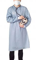 Adult Fancy Dress Surgeon Doctors Coat & Hospital Doctors Kit Rubie s 13015
