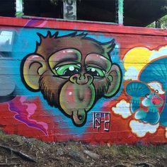 Monkey #graffiti#art#mtn94#mtn#hardcore#spray