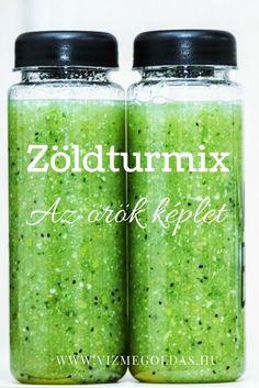 Egészséges receptek - Az örök képlet, amire a zöld turmix elkészítéséhez szükséged van