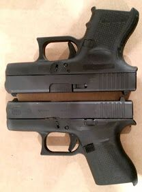 Glock G26 and Glock G43 Single Stack