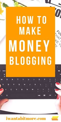 How do bloggers make money?  Clue: it's not just from writing great content... Here are nine ways people monetise their blogs and turn their passion into an income.  #blogging #sidehustle #workfromhome #workonline #gigeconomy
