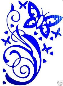 BUTTERFLY  - So Pretty Must Have *** Car Decal **BUY IT NOW