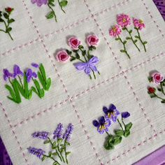 Wonderful Ribbon Embroidery Flowers by Hand Ideas. Enchanting Ribbon Embroidery Flowers by Hand Ideas. Hand Embroidery Tutorial, Simple Embroidery, Learn Embroidery, Hand Embroidery Stitches, Silk Ribbon Embroidery, Hand Embroidery Designs, Vintage Embroidery, Embroidery Techniques, Cross Stitch Embroidery
