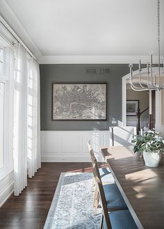 Dining Room Curtain Ideas Light
