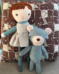 handmade dolls and sewing patterns at wee wonderfuls