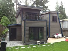 North Vancouver Storage Shed integrated with the house.