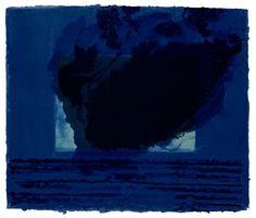 Howard Hodgkin's 'A Storm' (1977). © Tate