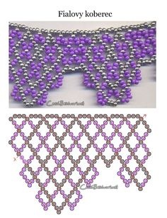 Beaded jewellry – Some more simple beaded patterns (Part II)