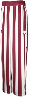Indiana Hoosiers adidas 2012-2013 Authentic On-Court Candy Striped Basketball Warm-up Pants