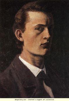 Edvard Munch. Self-Portrait. Olga's Gallery.