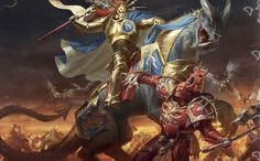 Well of Eternity: Artworks from Warhammer Age of Sigmar II Warhammer 40k Art, Warhammer Fantasy, Fantasy Battle, High Fantasy, Fantasy Concept Art, Fantasy Artwork, Stormcast Eternals, Age Of Sigmar, The Grim