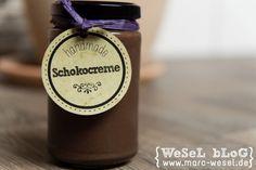 Selbst gemachte / handmade Schokocreme. Ein einfaches Rezept für eine super leckere Schokocreme. Einfach ausprobieren und überzeugen lassen.