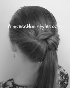 43fc8324082 Back To School Hairstyles Tail Hairstyle