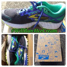 #TuesdayTidbit - Finding The Right Shoe #WillRun4IceCream