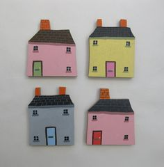 Image of Little wooden houses
