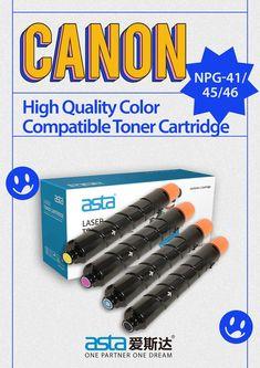 Compatible Canon NPG-41/45/46 toner cartridge #Canon Laser Toner Cartridge, Label Paper, Canon, Cannon