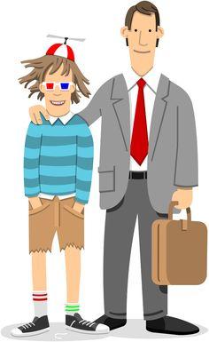 Parenting Advice - Chi Birmingham Illustration