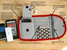 iphone wallet type 1 Build your own phone by MrAndMrsWallet