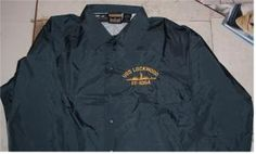USS LOCKWOOD FF-1064 REUNION JACKET Navy Humor, Embroidery Services, United States Navy, Nike Jacket, Company Logo, Jackets, Fashion, Down Jackets, Moda