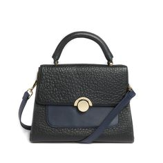 Large Circle Clasp Leather Tote Bag from Ted Baker