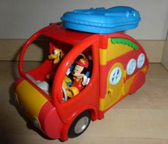 #Location jouet camping-car mickey à Albias (82350) _ www.placedelaloc.com/location/sport-loisirs/jeux-jouets #consocollab  #mickey