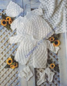 knitting instructions for baby dress