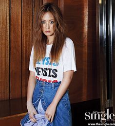 SNSD Yuri - Singles Magazine May Issue '15